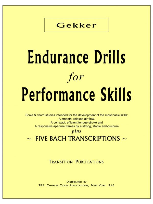 Gekker, Enducance Drills for Performance Skills PDF