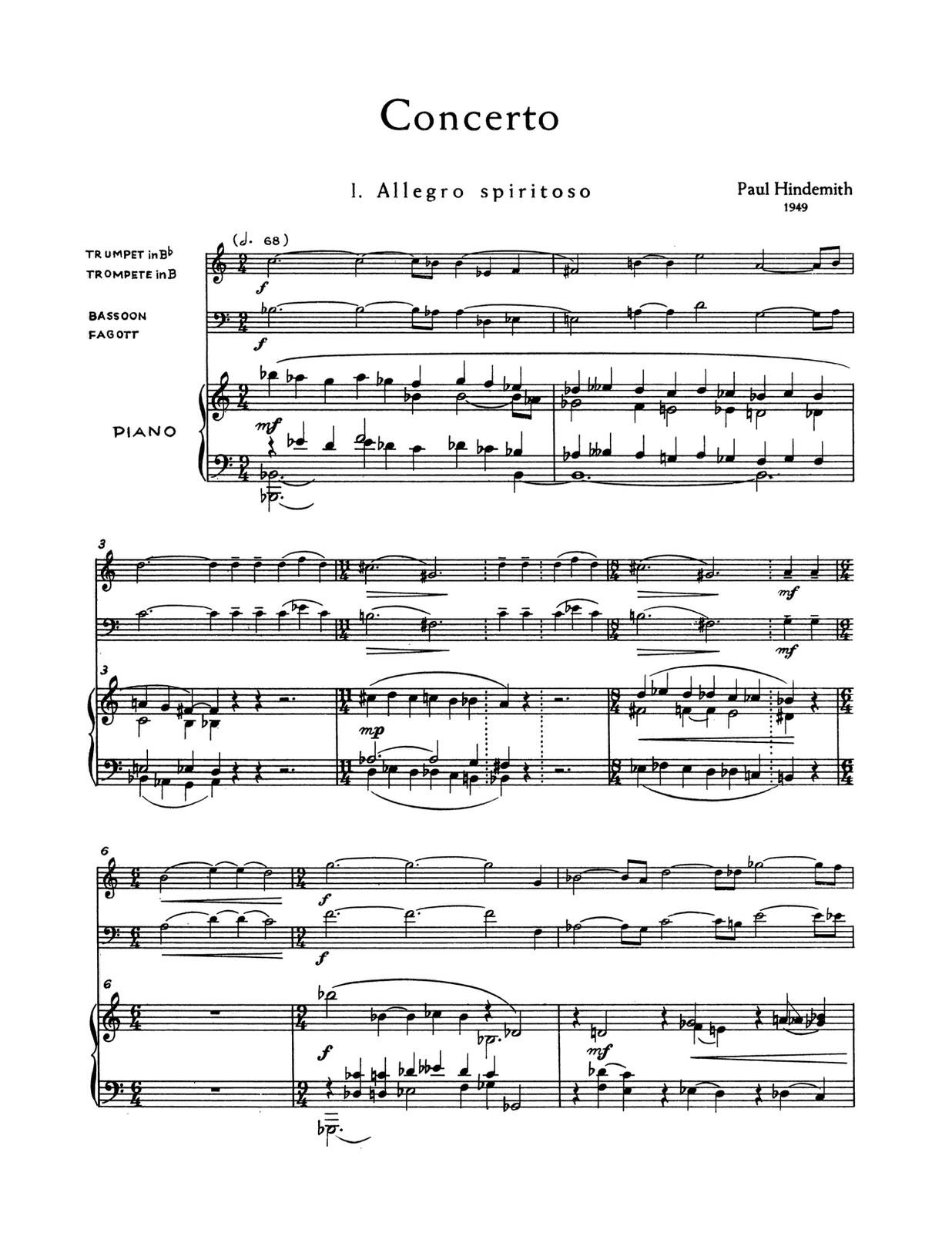 Paul Hindemith - Concerto Op. 46 N. 2 - Konzertmusik Op. 50