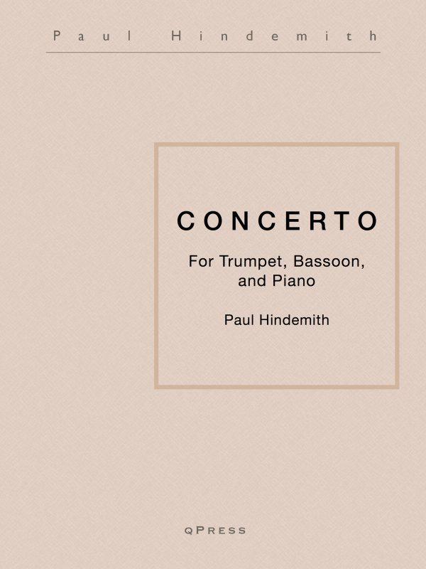 Hindemith, Concerto Solo Parts