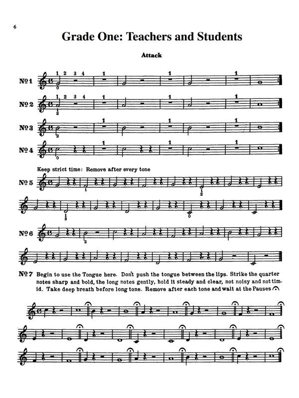 Shuebruk, Lip Trainers for Trumpet PDF