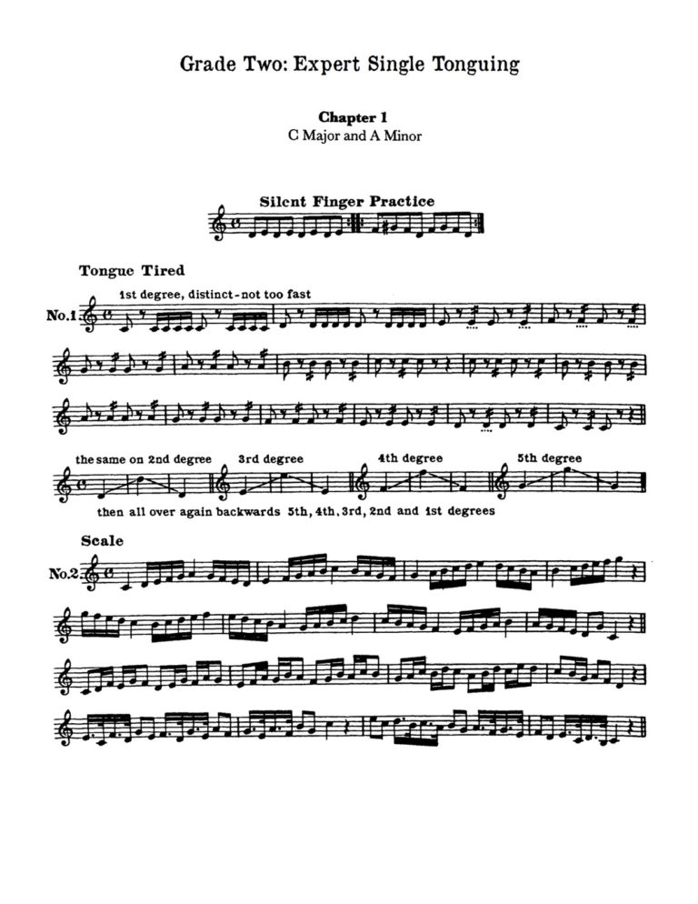 Tongue Trainers for Trumpet