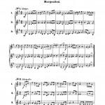 Wurm, 30 Trios for Trumpet 2