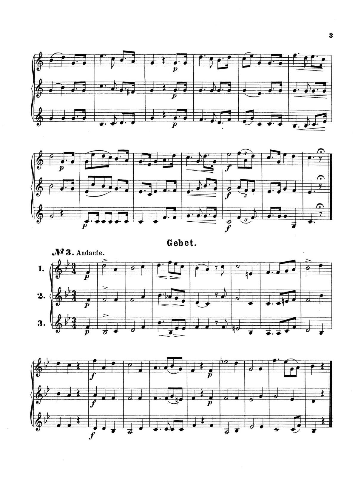 Wurm, 30 Trios for Trumpet 3