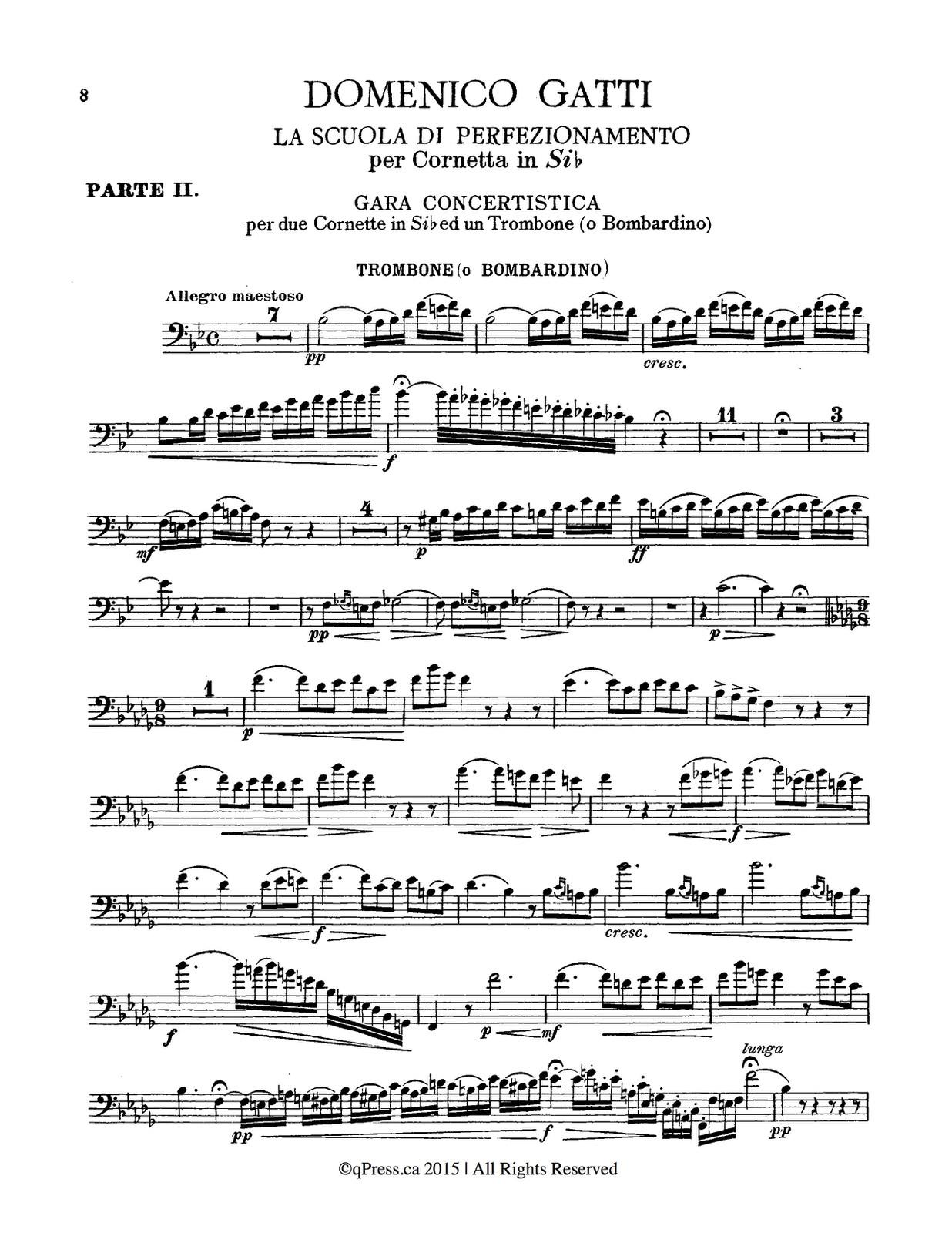 Gatti, La Scuola Di Perfezionamento Complete, Trombone-1