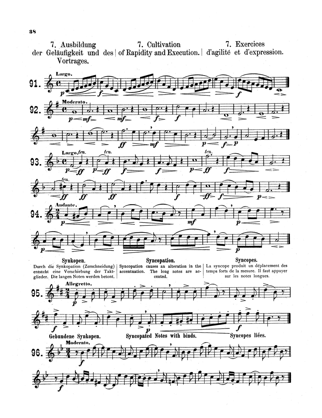Pietzch, School for the Trumpet Vol 1 4