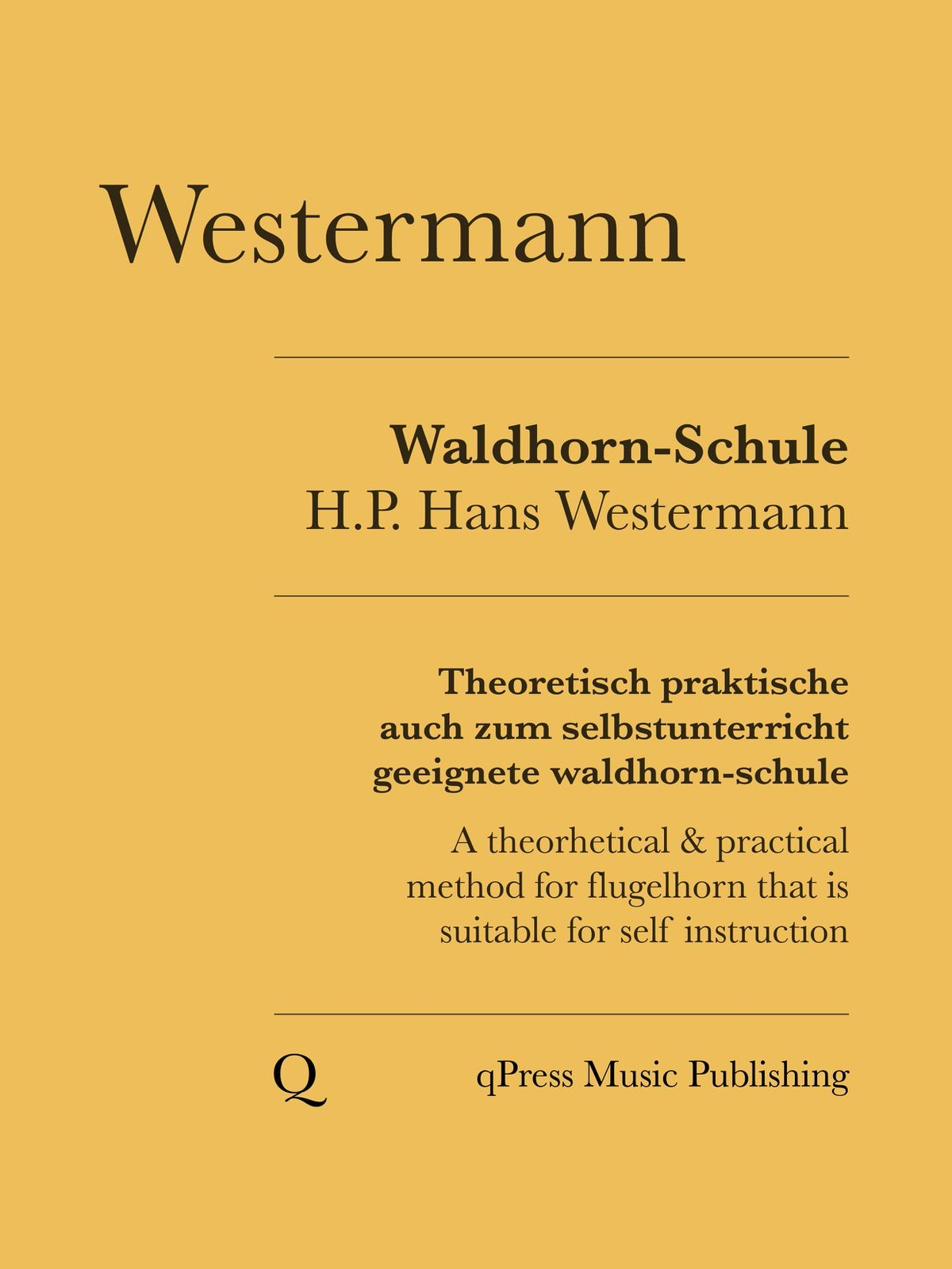 Westermann, Practical Method for Althorn-Flugelhorn-p01