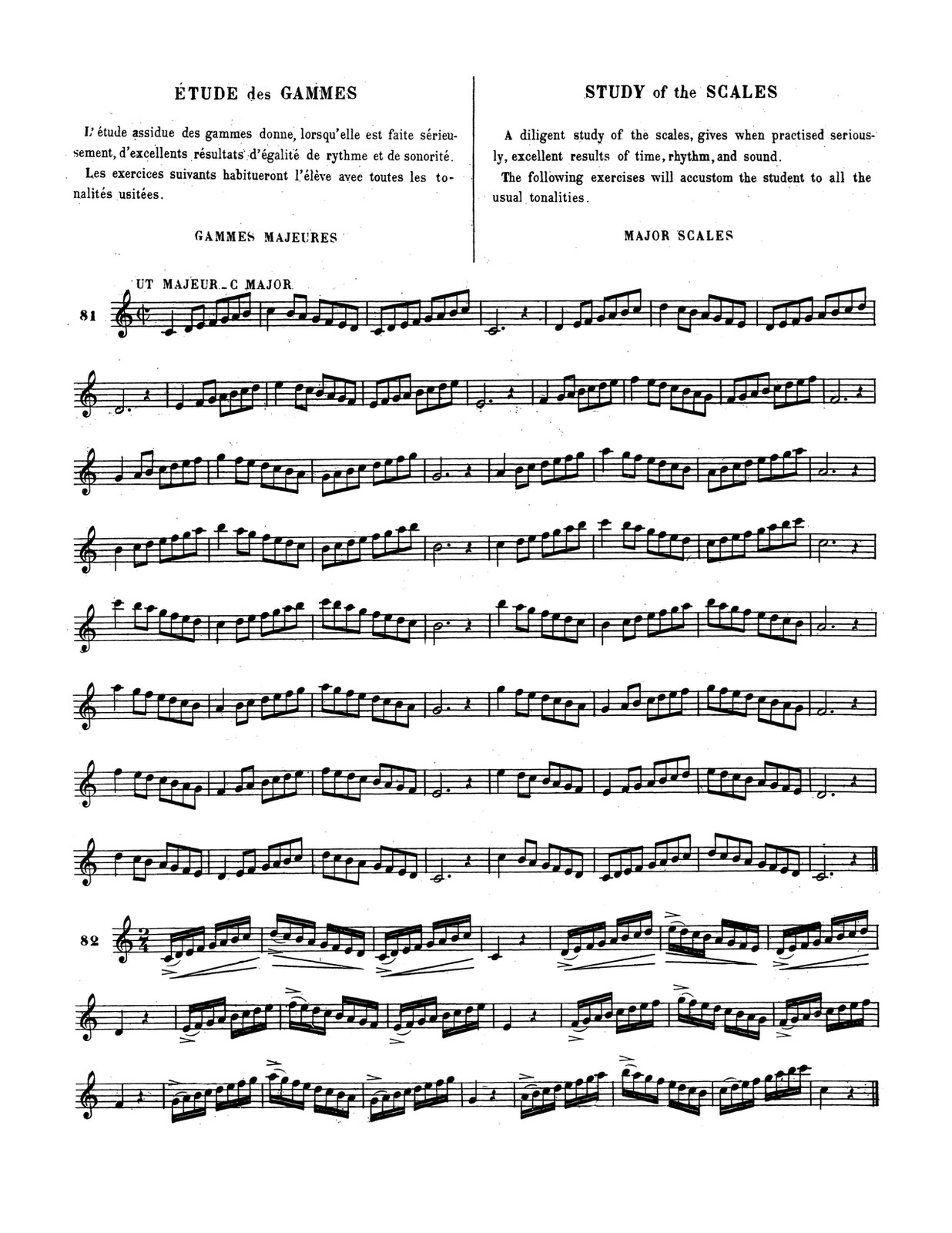 Bizet, Grand Modern Method for the Trumpet 4
