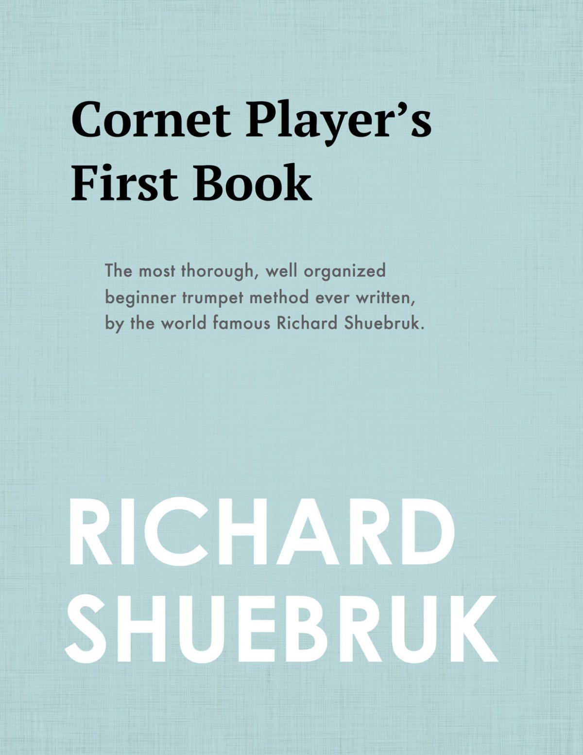Shuebruk, The Cornet Player's First Book-p01