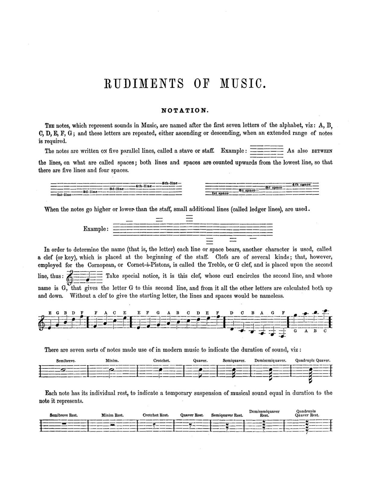 Arbuckle, Cornet Method 2