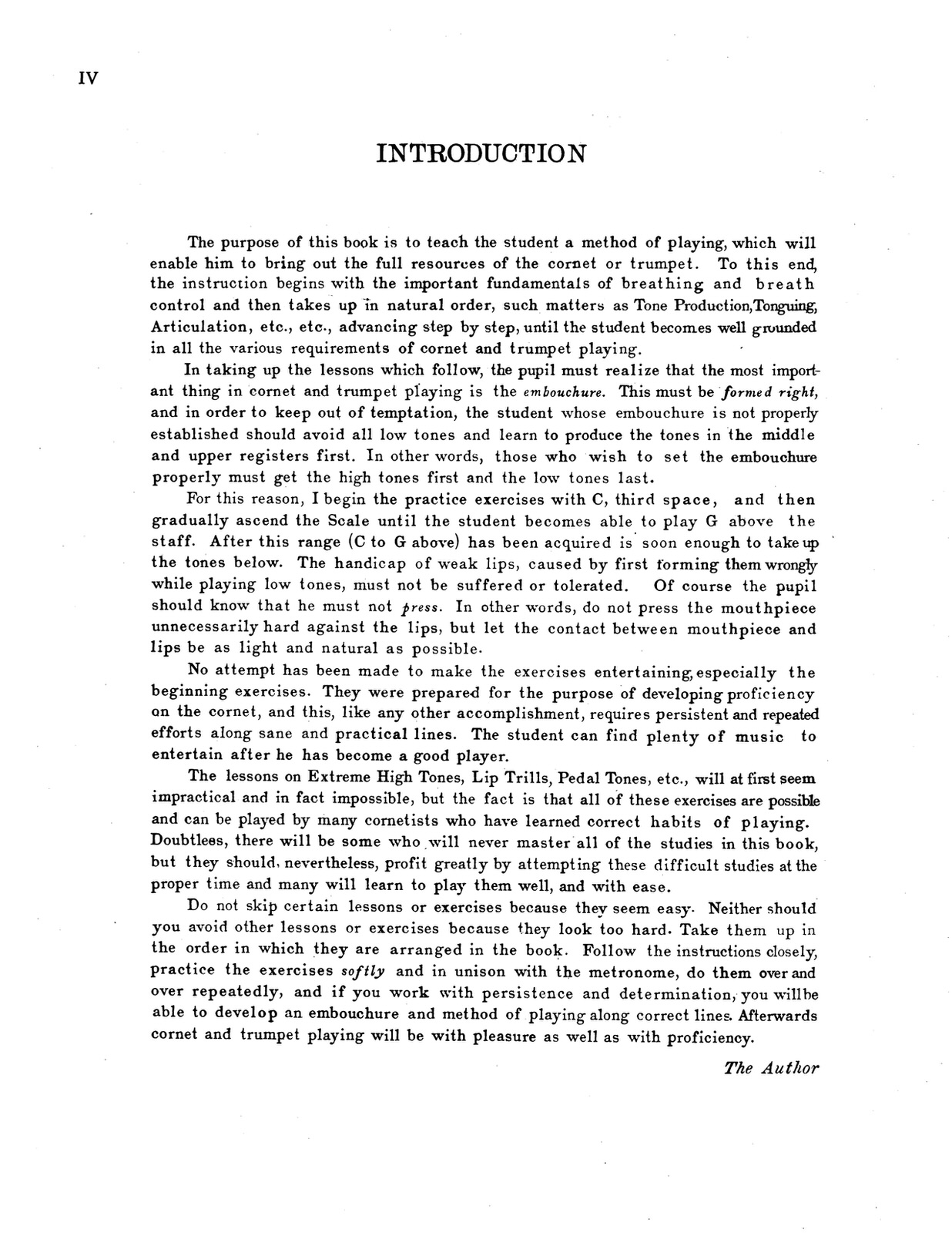 Eby, Walter Scientific Method for Trumpet Volume 1 2