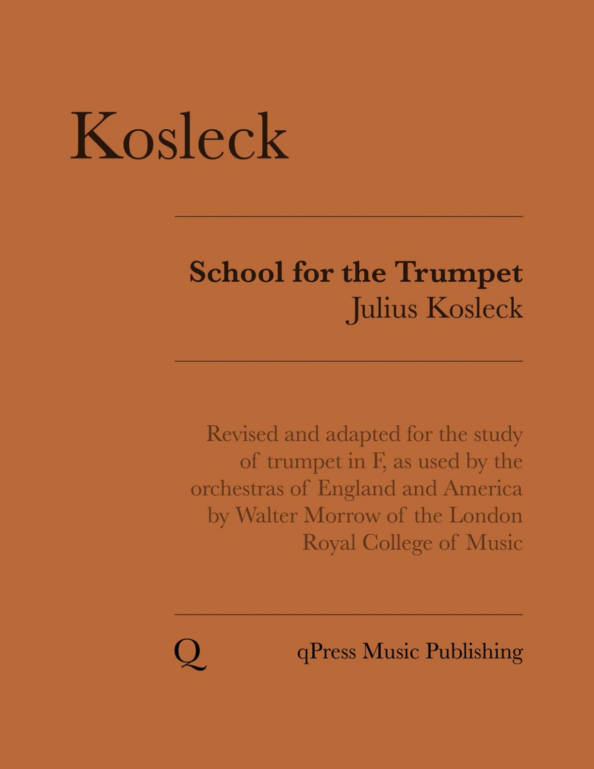 Kosleck's School For Trumpet-p001