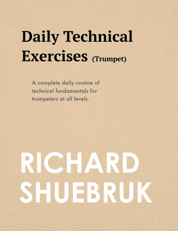 Daily Technical Exercises