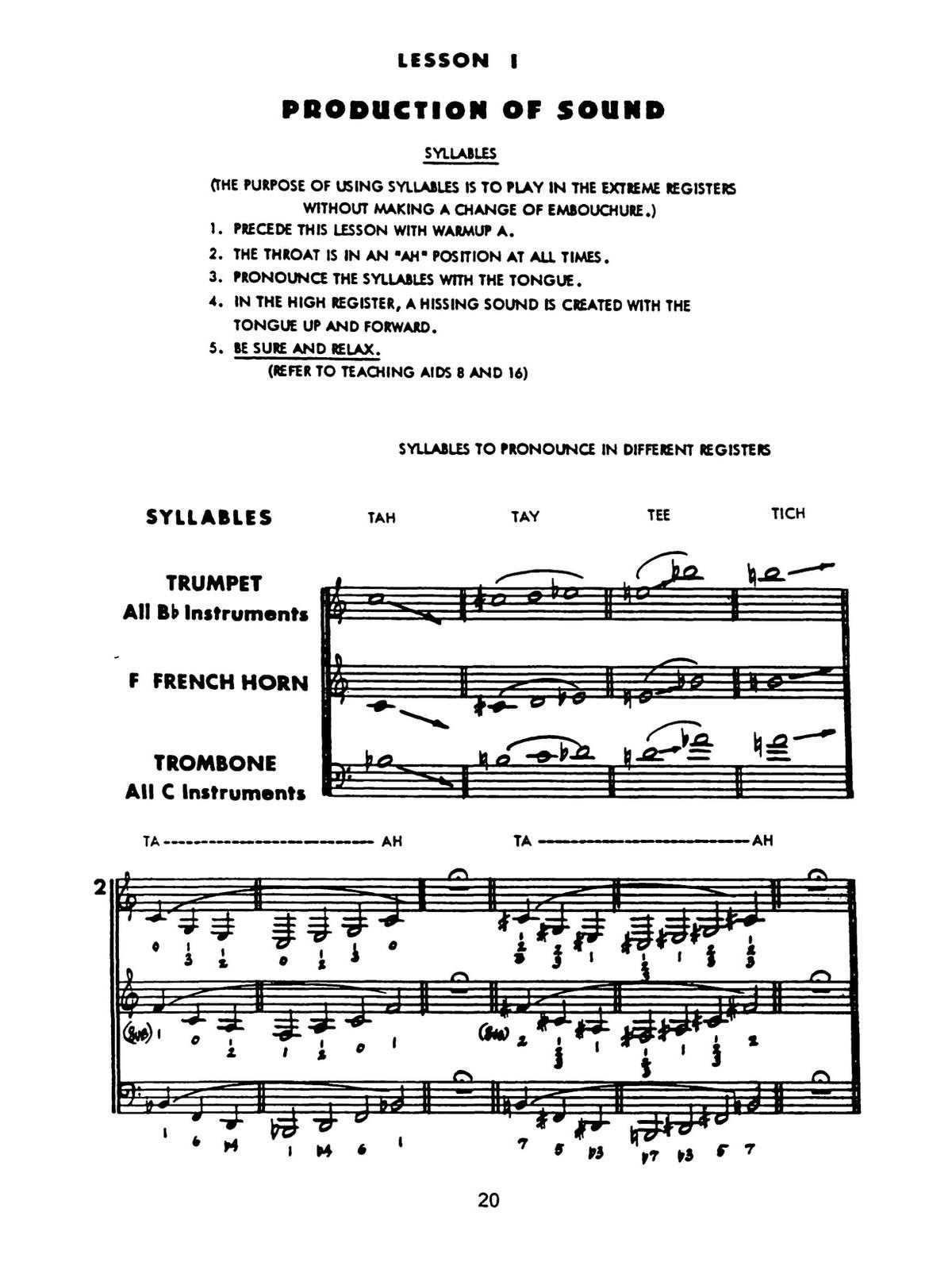 Maggio, System For Brass 4
