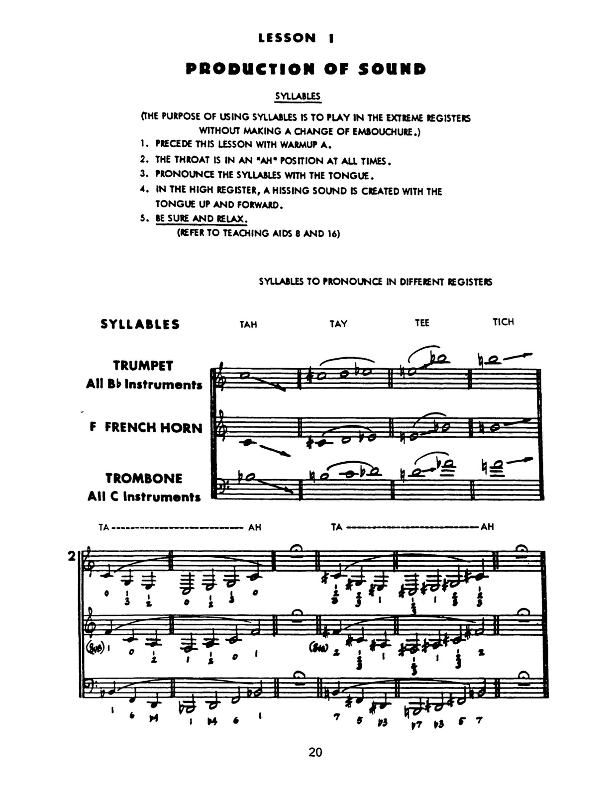 Maggio, System For Brass 4