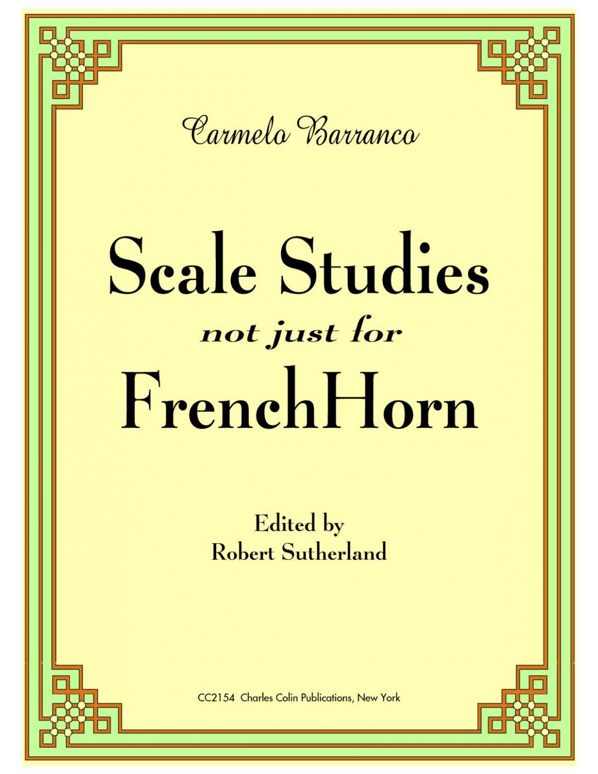 Barranco, Scale Studies