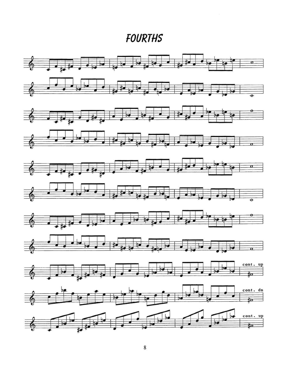 D'Aveni, Jazz Trumpet Technique Vol.1 Flexibility-p10