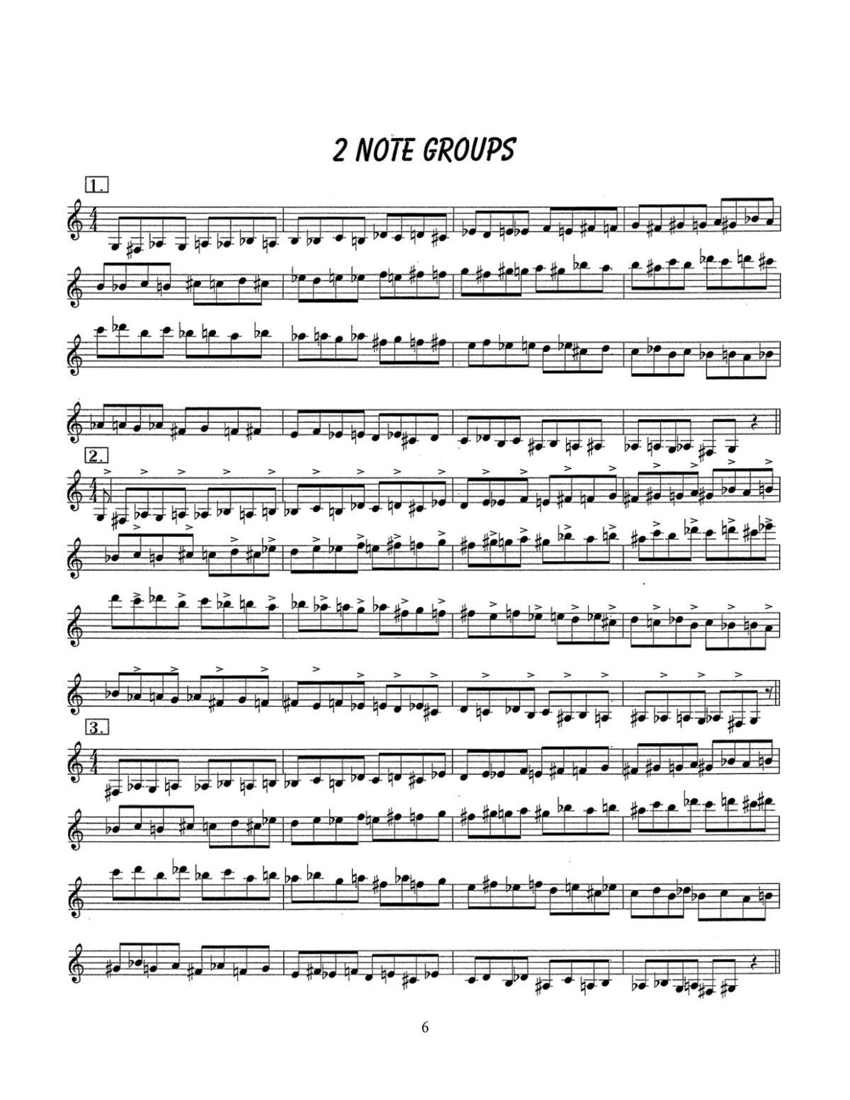 D'Aveni, Jazz Trumpet Technique Vol.3 Chromatics-p08