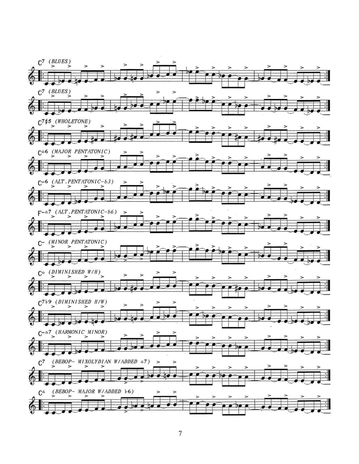 D'Aveni, Jazz Trumpet Technique Vol.4 Articulation-p09