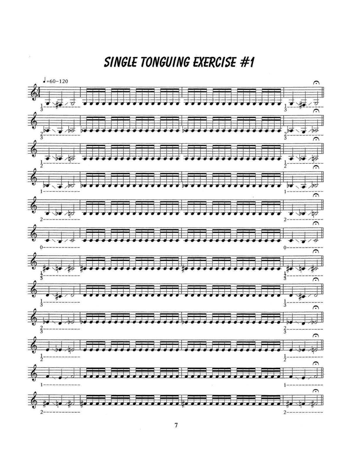 D'Aveni, Jazz Trumpet Technique Vol.5 Warming Up-p09