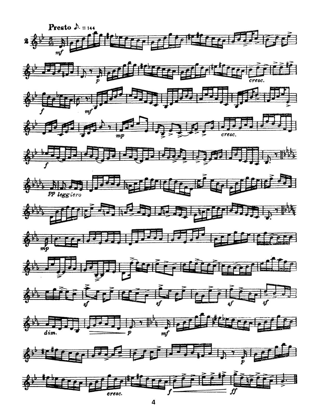 Mancini Rhythm in Technique Letter 4