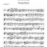 Pietzsch, 24 Light Instructive Duets Trumpet 1 2