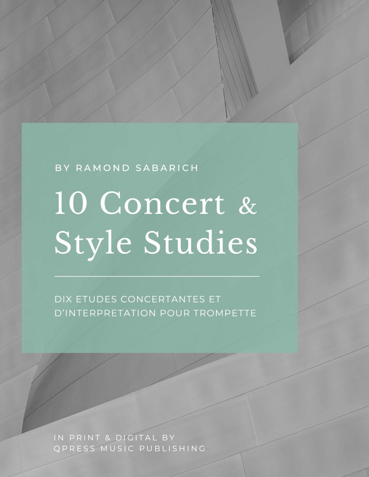 Sabarich, Dix Etudes Concertantes et d'Interpretation-p01