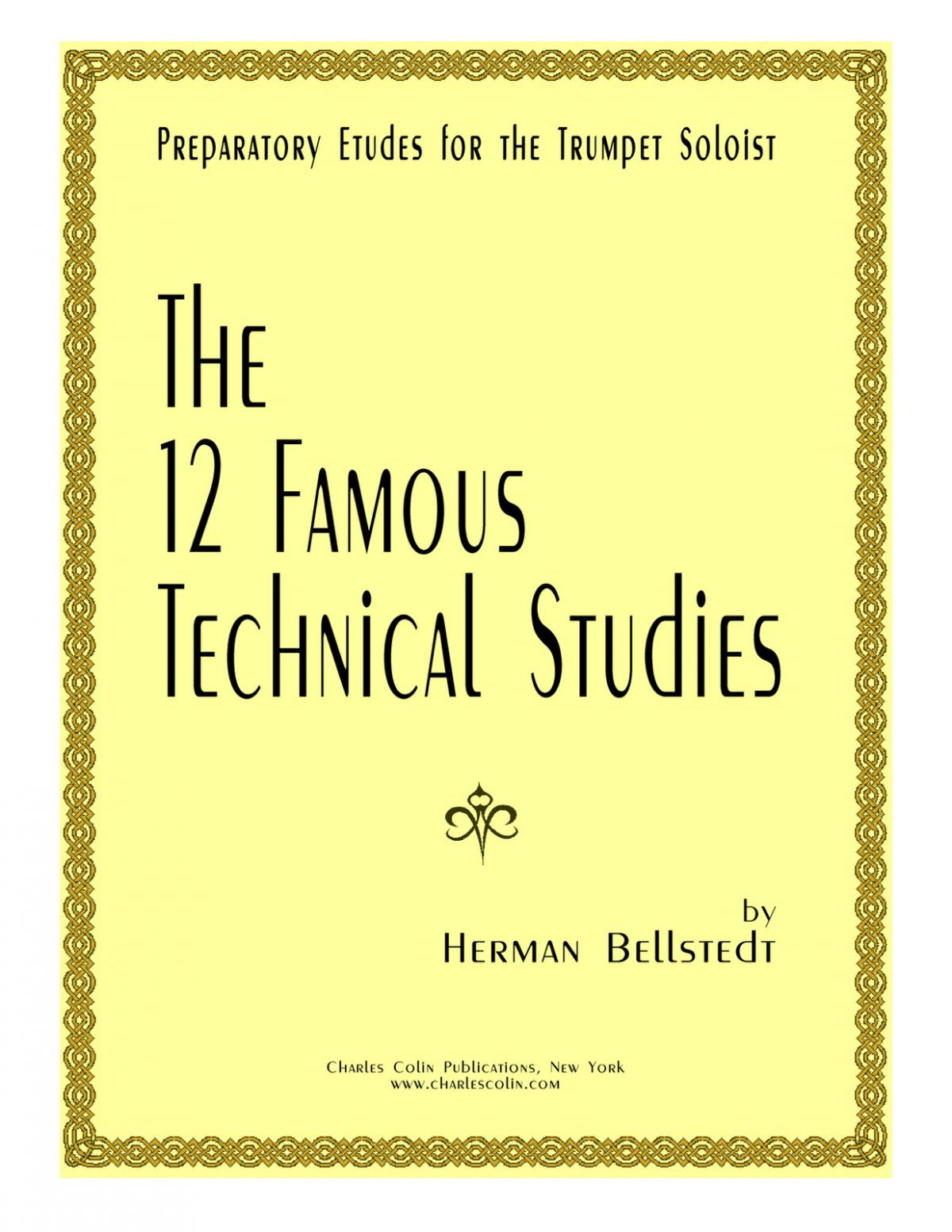 (clean) Bellstedt, Twelve Famous Technical Studies Letter