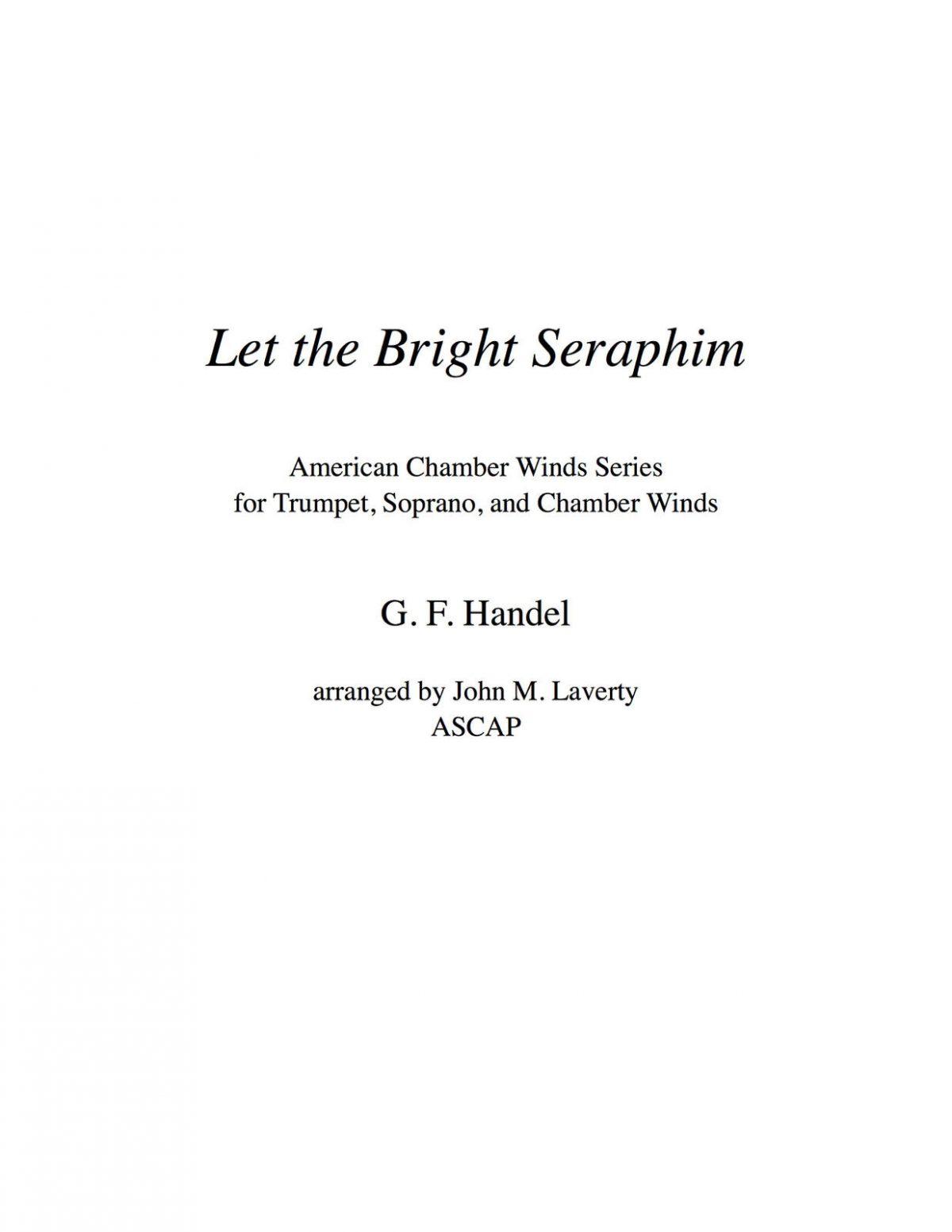 Handel, Let the Bright Seraphim Winds 5