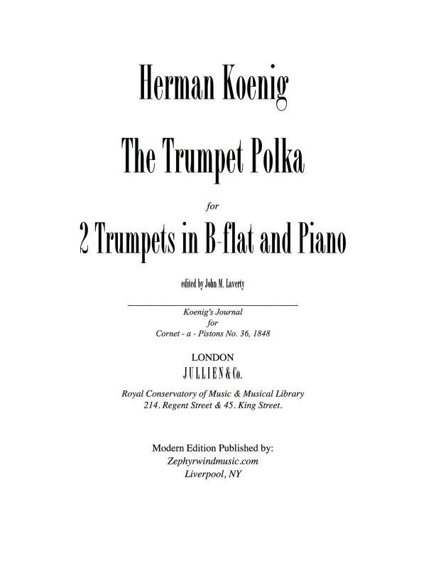 Koenig, Trumpet Polka