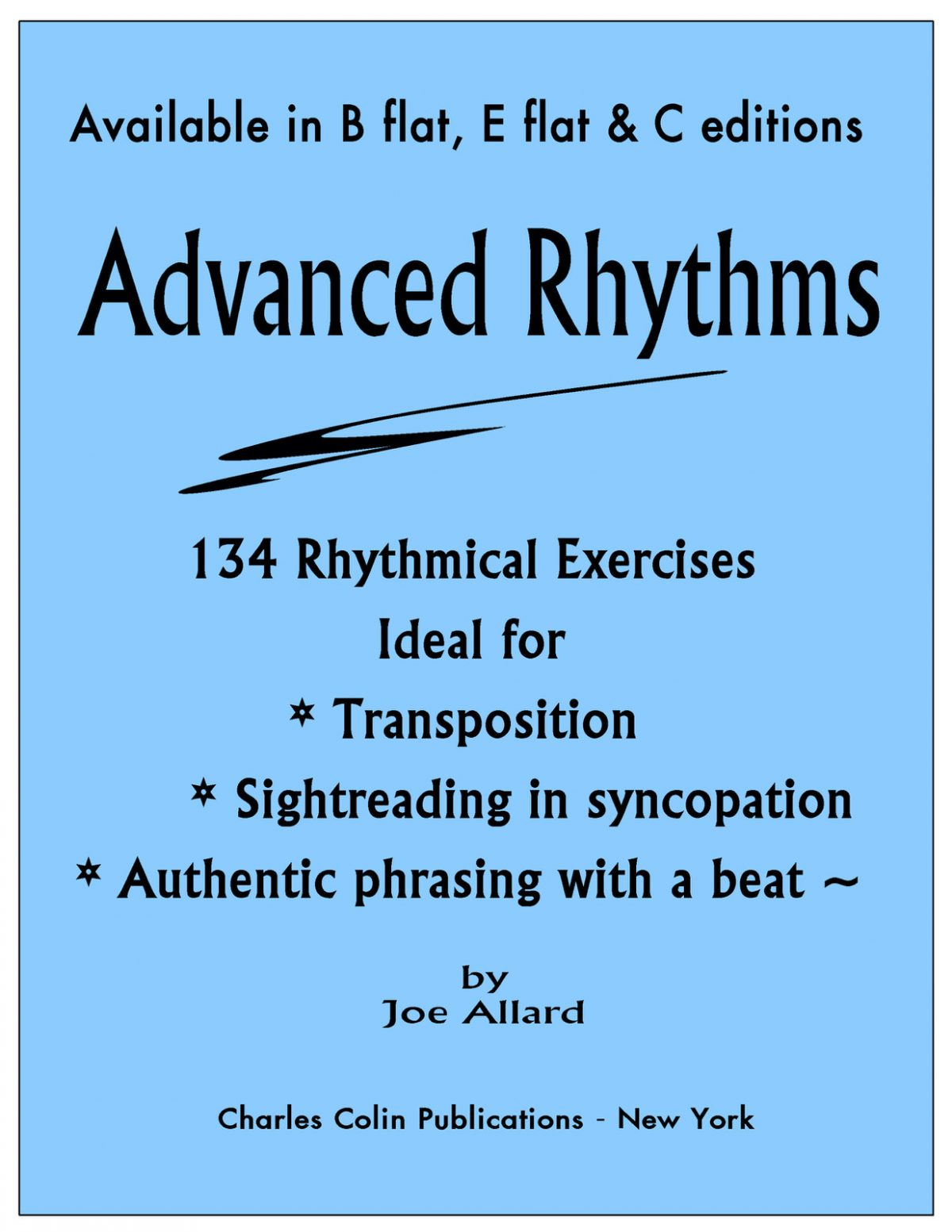 Allard, Advanced Rhythms
