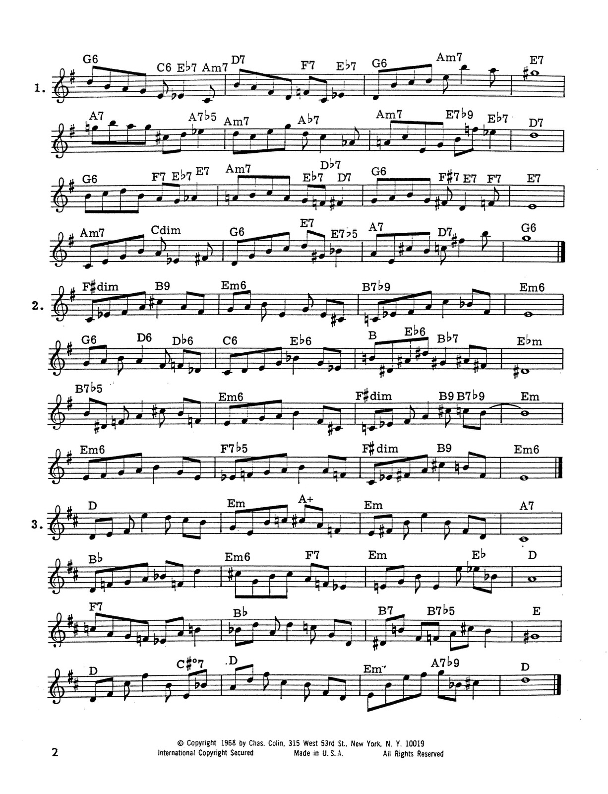 Allard, Advanced Rhythms 2