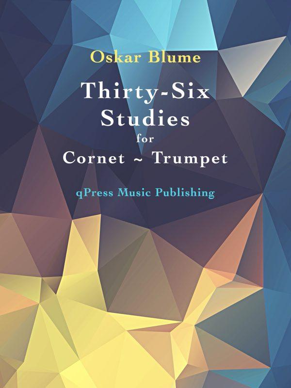 Blume, 36 Etudes for Trumpet-p01
