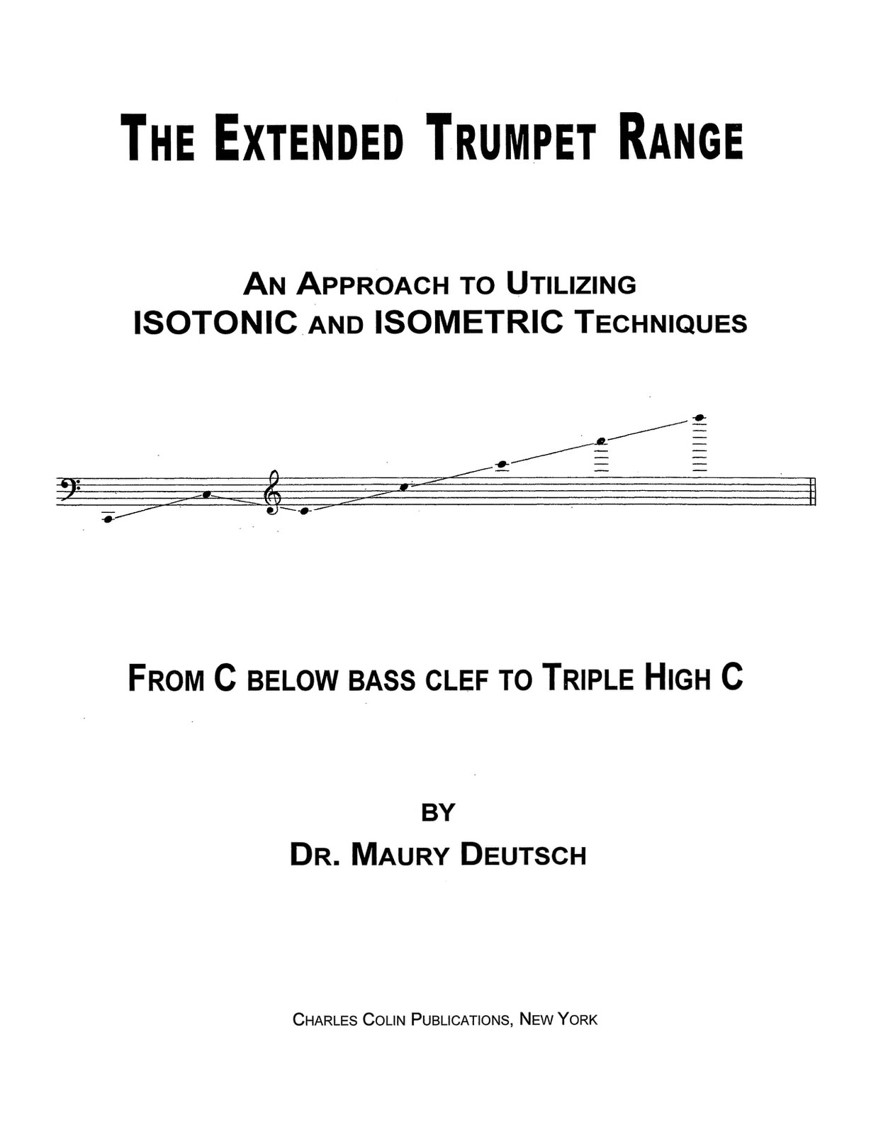 Deutsch, The Extended Trumpet Range 2