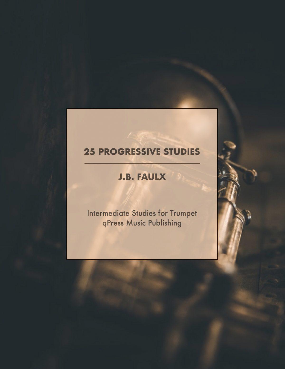 Faulx, JB, 25 Progressive Studies of Medium Difficulty-p01