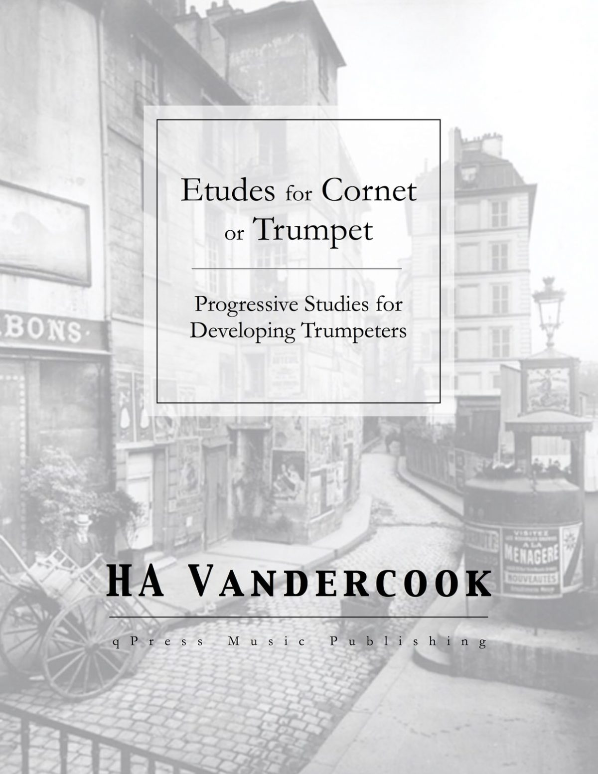 Vandercook, Etudes for Cornet or Trumpet-p01