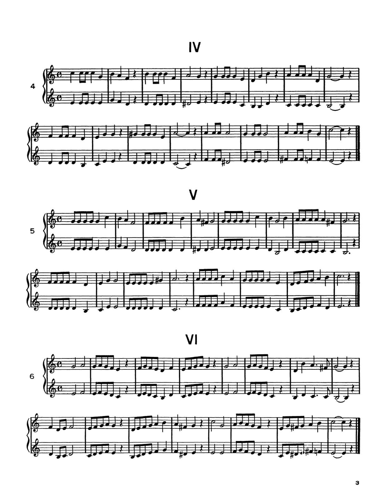 Vandercook, Progressive Duets for Trumpet-p03