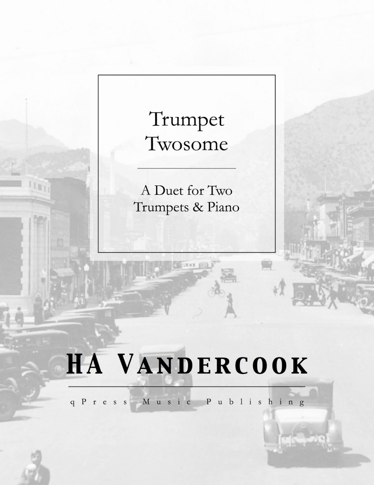 Vandercook, Trumpet Twosome Duet (2 trumpets and piano)-p01