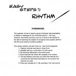 Yaus, Easy Steps to Rhythm, Bb 2