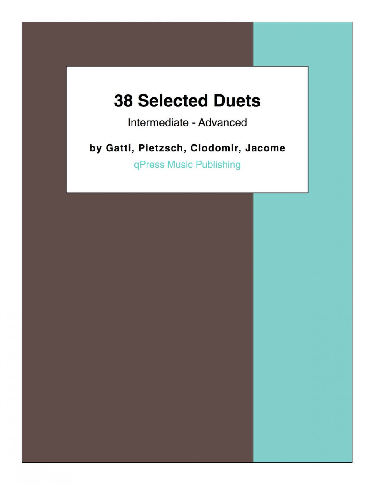 38 Selected Duets (Intermediate – Advanced)