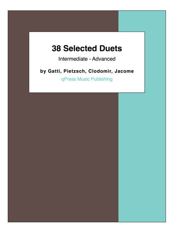 38 Selected Duets (Intermediate - Advanced)