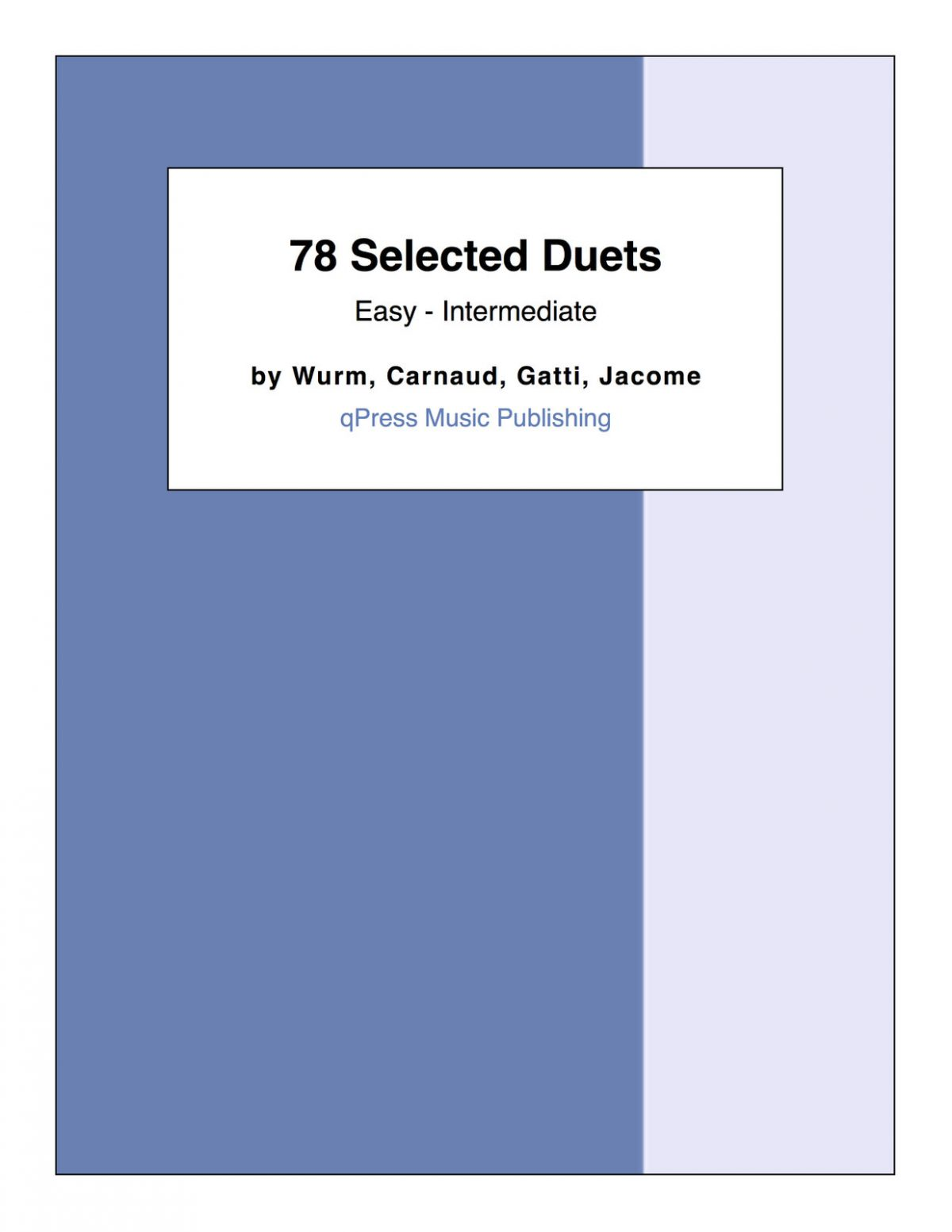 78 Selected Duets (Beginner to Intermediate)-1