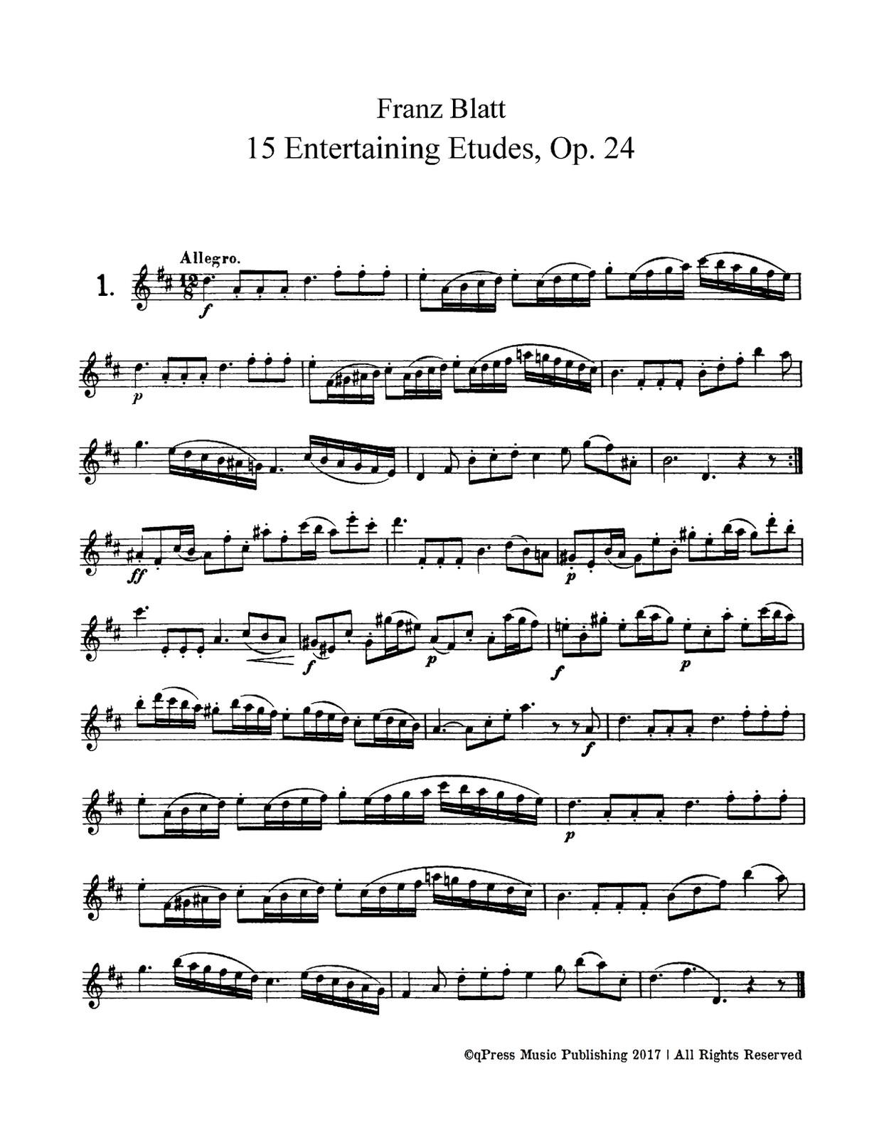 Blatt, 15 Entertaining Etudes-p03