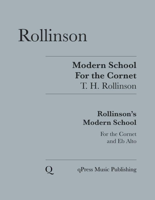 Modern School for the Cornet
