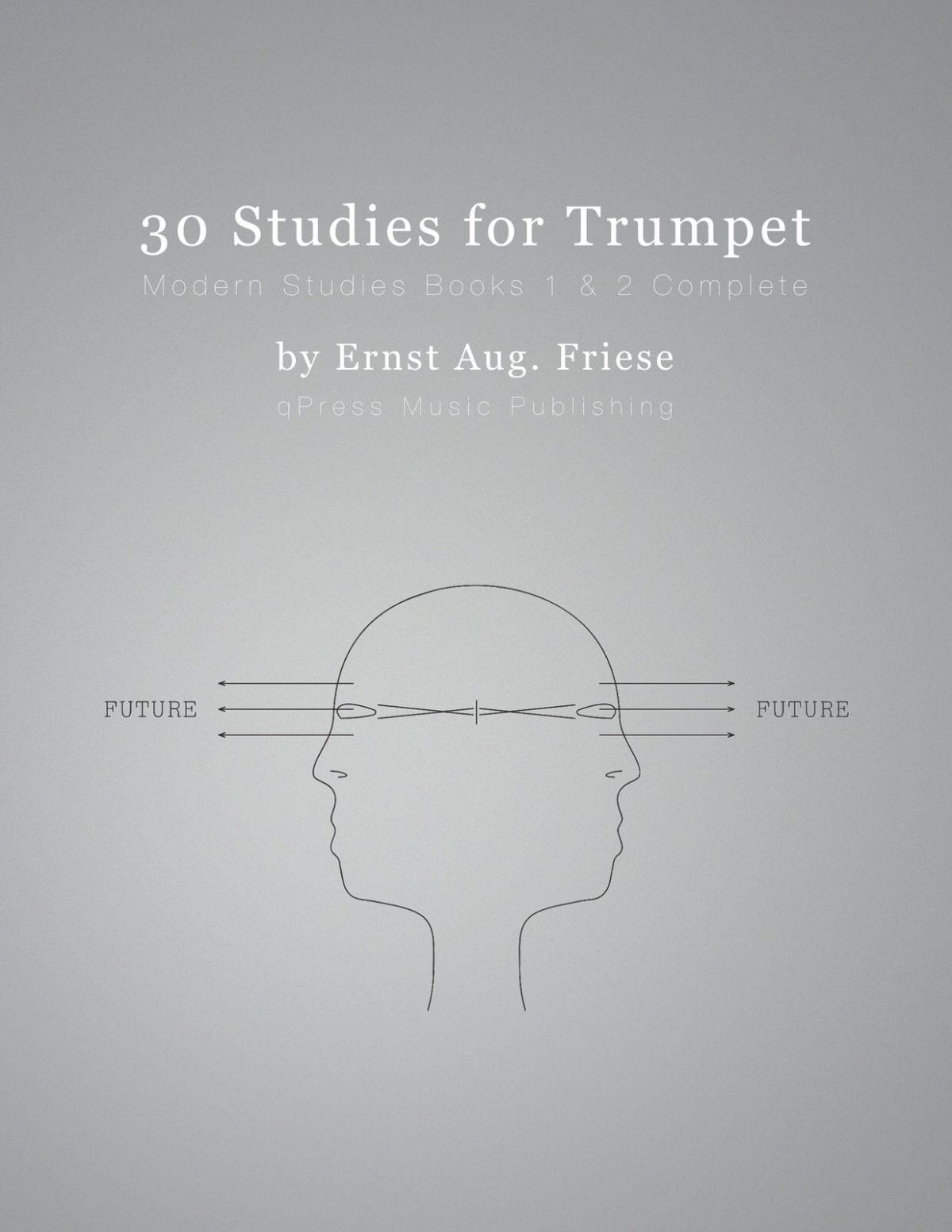 Friese, Modern Trumpet Studies Books 1 & 2 cover