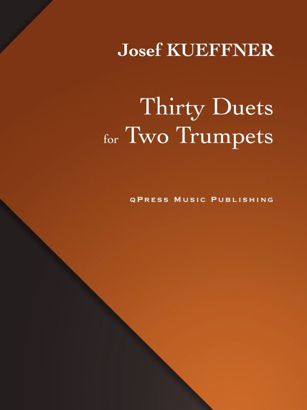Kueffner, 30 Duets for 2 Trumpets-p01