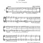 Kueffner, 30 Duets for 2 Trumpets-p03