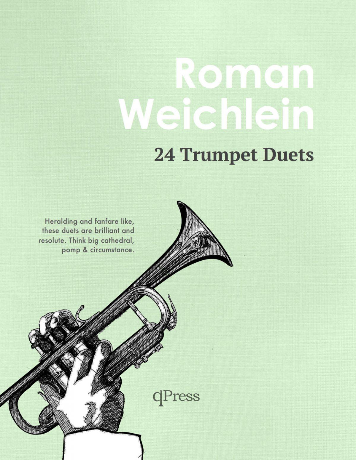 Weichlein, Roman 24 Trumpet Duets