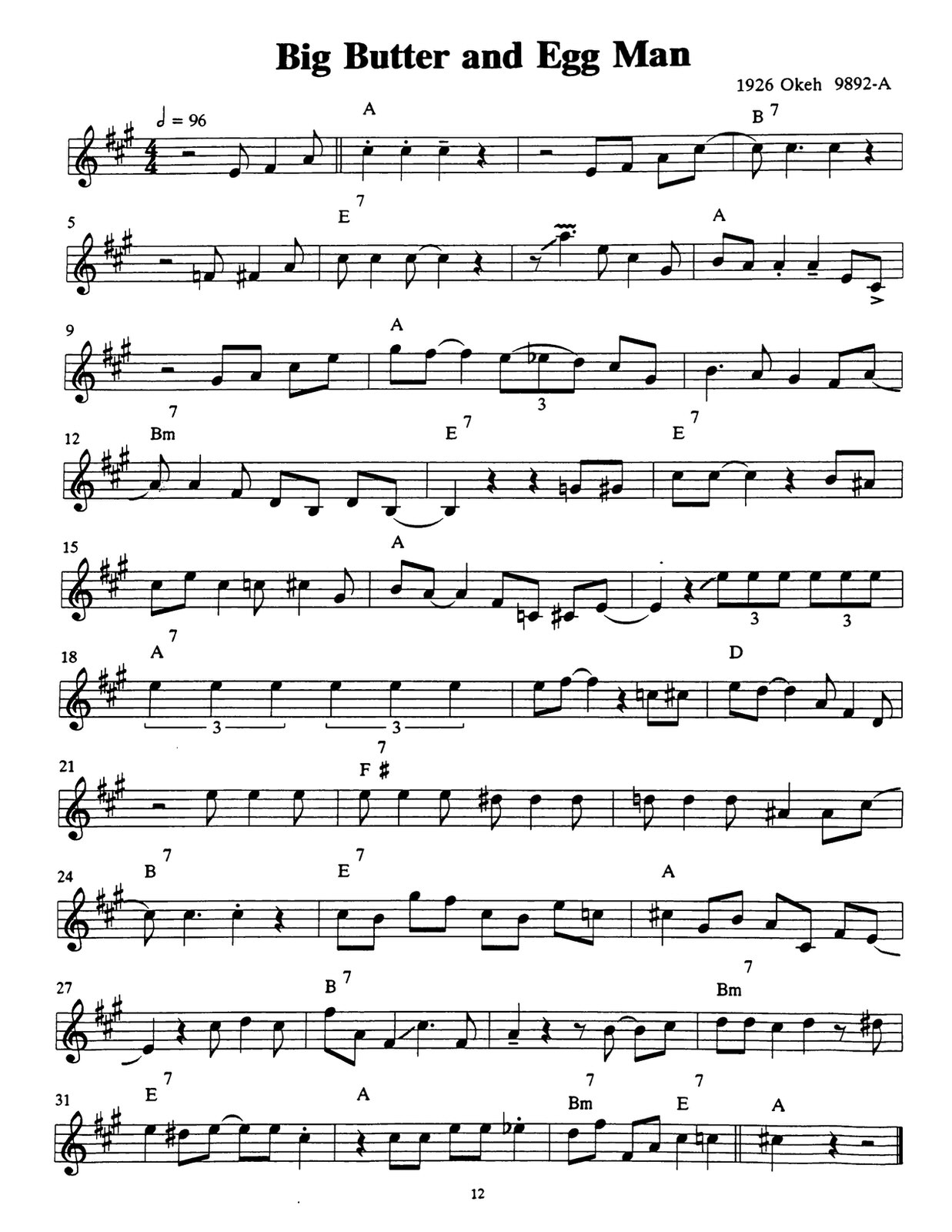 Armstrong, The Great Trumpet Solos Of 4