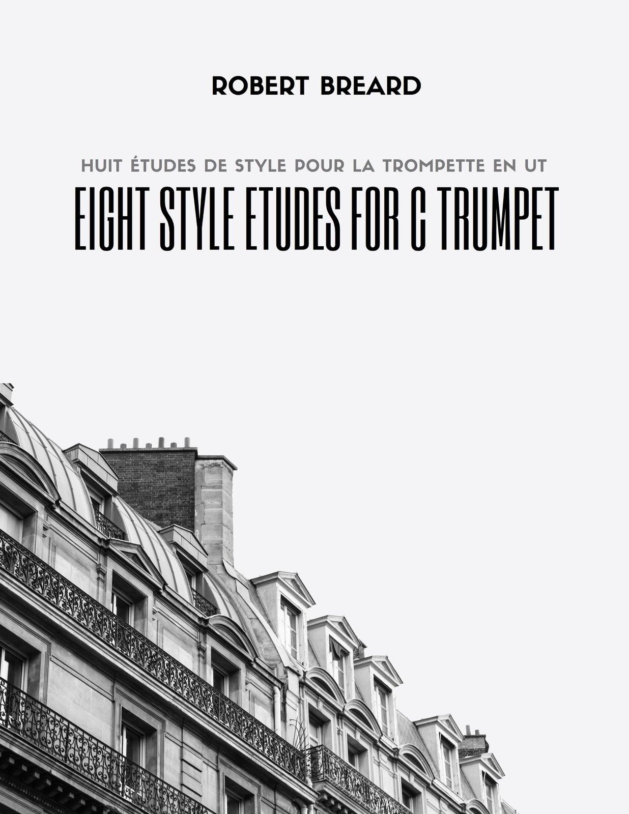 Breard, Robert, Huit Etudes de Style for C Trumpet-p01