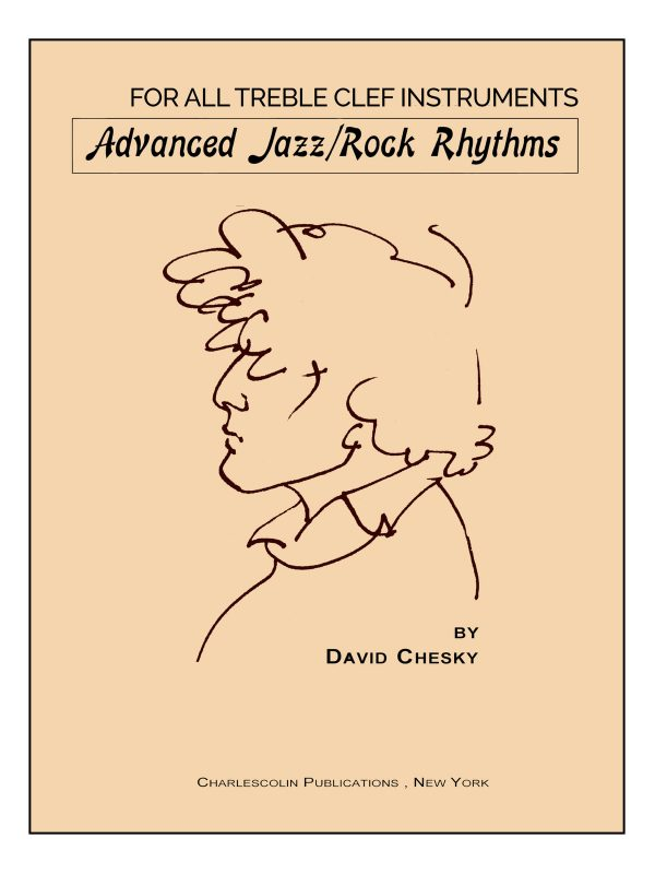 Chesky, Advanced Jazz-Rock Rhythms Treble Clef